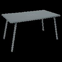 Table haute MONCEAU de Fermob, 146x80x74, Gris orage