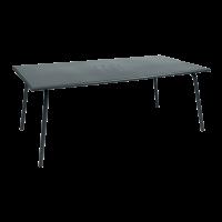 Table haute MONCEAU de Fermob, 194x94x74, Gris orage