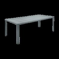 Table  OLÉRON de Fermob, Gris orage