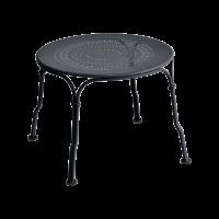 Table basse 1900 de Fermob, Carbone