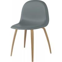 Chaise 3D de Gubi, Chêne et Rainy Grey