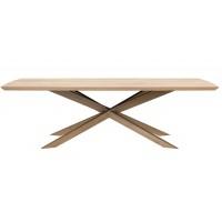 Table basse MIKADO en chêne d