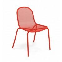 Chaise NOVA de Emu, Rouge écarlate
