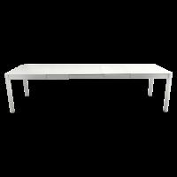 Table à allonges RIBAMBELLE de Fermob, 3 allonges, Gris métal