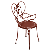 Chaise ANGE de Fermob, ocre rouge