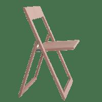 Chaise pliante AVIVA de Magis, Rose pâle