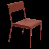 Chaise BELLEVIE de Fermob, ocre rouge