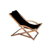 Coussin appui-tête pour chaise pliable BEACHER de Royal Botania, Noir