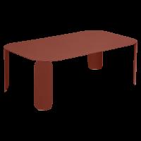 Table basse rectangulaire BEBOP de Fermob, H.42, Ocre rouge