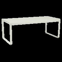 Table BELLEVIE de Fermob, Gris argile