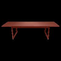 Table à allonges BIARRITZ de Fermob, ocre rouge