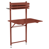 Table balcon BISTRO de Fermob, ocre rouge
