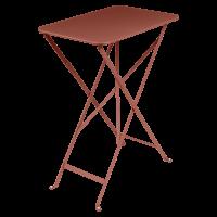 Table rectangulaire BISTRO 37 x 57 cm de Fermob, ocre rouge