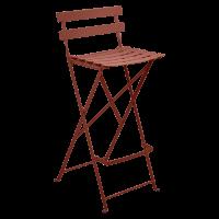 Tabouret haut BISTRO de Fermob, ocre rouge