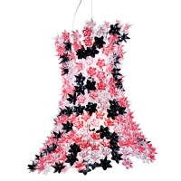 Suspension BLOOM de Kartell, Rose noir