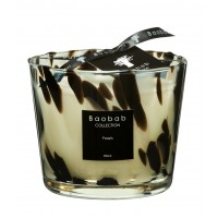 Bougie MAX One Black PEARLS de Baobab Collection