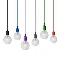 Suspension E27 de Muuto, 18 coloris