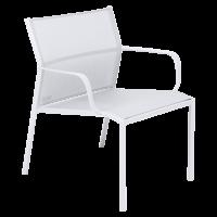 Fauteuil bas CADIZ de Fermob, Blanc coton