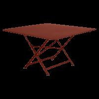 Table pliante CARGO de Fermob, ocre rouge