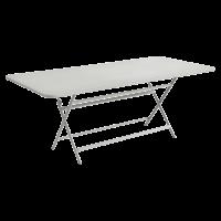 Table rectangulaire CARACTÈRE de Fermob, Gris métal