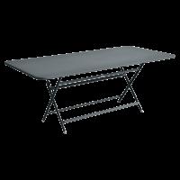 Table rectangulaire CARACTÈRE de Fermob, Gris orage
