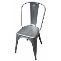 Chaise A de Tolix acier brut, 3 finitions