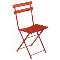 Chaise ARC EN CIEL de Emu, Rouge écarlate
