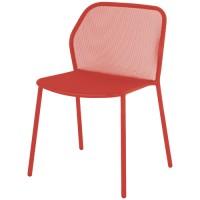 Chaise DARWIN de Emu, Rouge écarlate