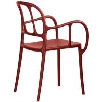 Chaise MILA de Magis, Rouge