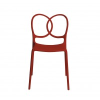 Chaise SISSI de Driade, Rouge