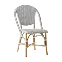 Chaise SOFIE de Sika Design, Gris points blancs