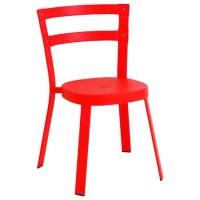 Chaise THOR de Emu, Rouge écarlate