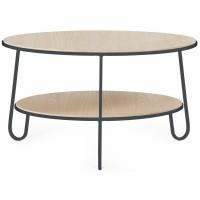 Table basse EUGENIE en chêne de Hartô, 2 tailles, 2 coloris