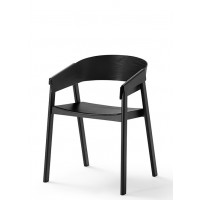 Chaise COVER de Muuto, Noir