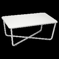 Table basse CROISETTE de Fermob, Gris métal