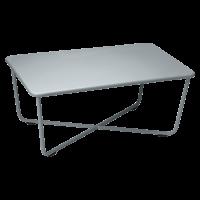 Table basse CROISETTE de Fermob, Gris orage