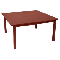 Table CRAFT de Fermob, ocre rouge