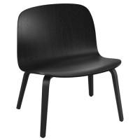 Chaise lounge VISU de Muuto, Noir
