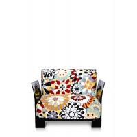 Fauteuil POP MISSONI de Kartell, 2 structures, 3 coloris