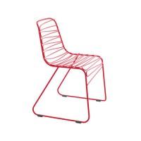 Chaise FLUX de Magis, Rouge