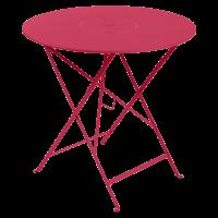 Table pliante FLORÉAL de Fermob D.77 ou D.96 cm, D. 77, Rose praline