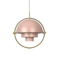 Suspension MULTI-LITE de Gubi, Rose