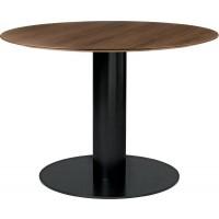 Table à manger 2.0 de Gubi, 2 tailles, 2 options, 5 coloris