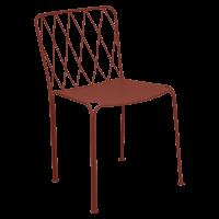 Chaise KINTBURY de Fermob, Ocre rouge