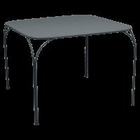 Table KINTBURY de Fermob, Gris orage
