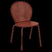 Chaise LORETTE de Fermob, Ocre rouge