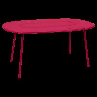 Table ovale LORETTE 160 x 90 cm de Fermob, Rose praline