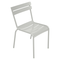Chaise LUXEMBOURG de Fermob, Gris métal