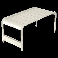 Grande table basse LUXEMBOURG de Fermob, Gris argile