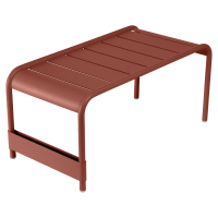 Grande table basse LUXEMBOURG de Fermob, Ocre rouge